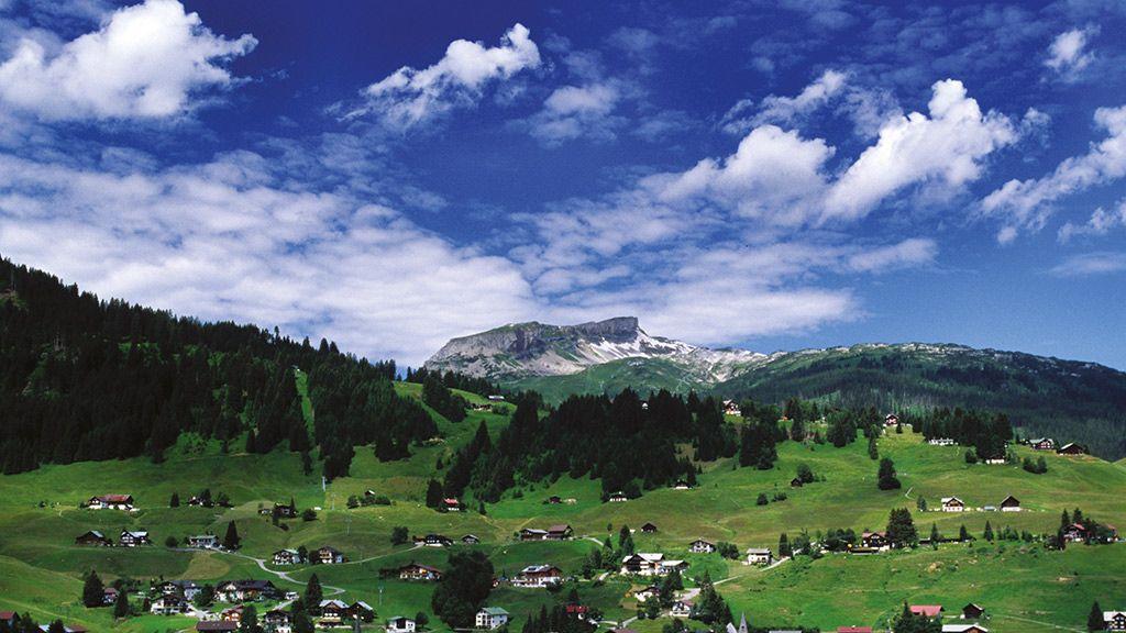 Hirschegg mit Ifen - Hirschegg Vorarlberg
