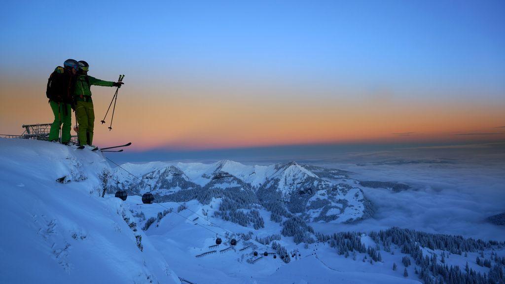 Traumhafte Aussichten im Skigebiet Mellau-Damüls - Mellau Vorarlberg