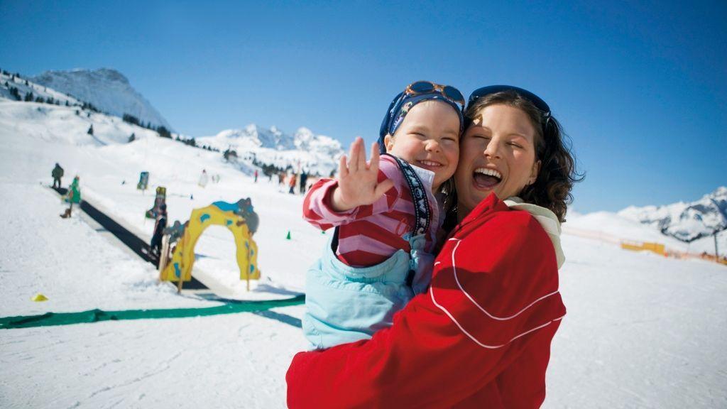 Skiurlaub mit Kindern in Warth-Schröcken - Foto: Warth-Schröcken Tourismus