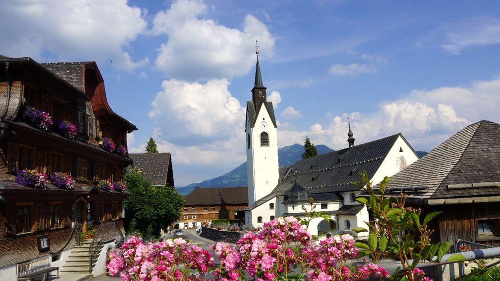 Denkmalgeschütztes Dorfzentrum - Schwarzenberg Vorarlberg