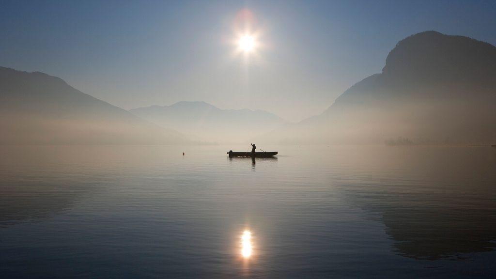 Fischerboot am Mondsee - Foto: Österreich Werbung / Weinhäupl