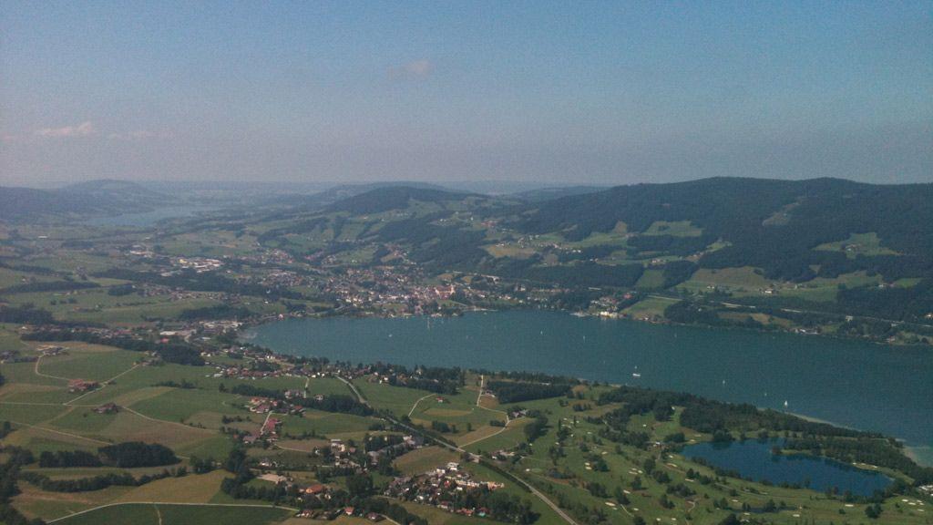 Blick über St. Lorenz - Foto: Tourismusverband MondSeeLand Mondsee – Irrsee
