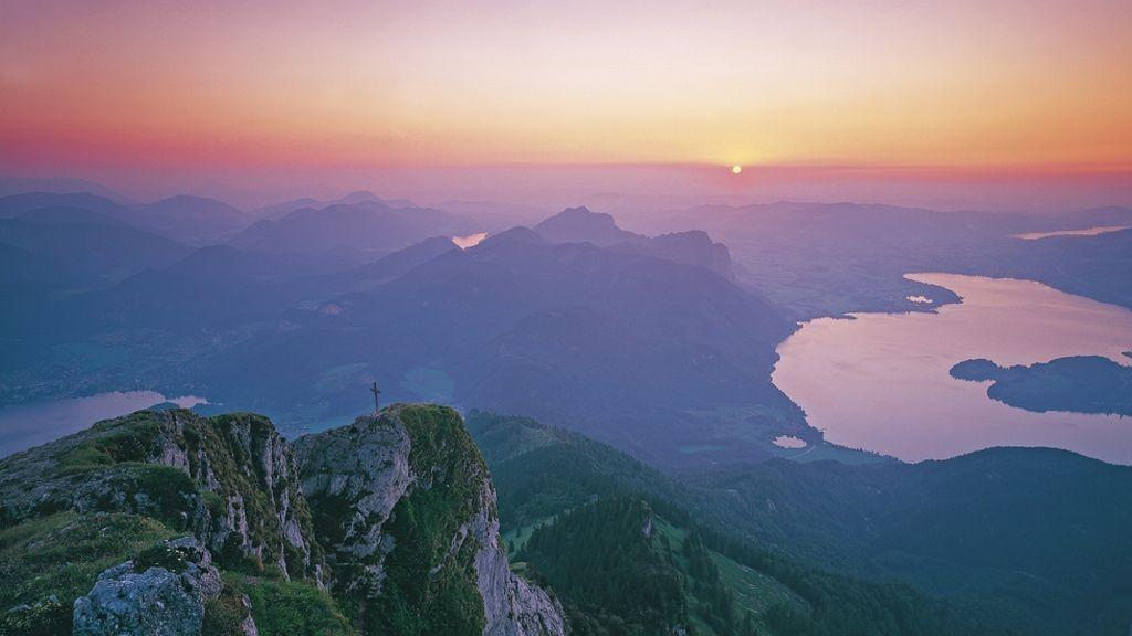 Blick vom Schafberg - Foto: Österreich Werbung / Hackner