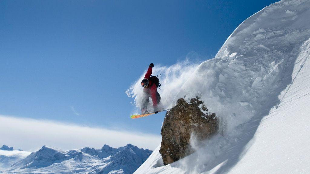 Snowboarden in Warth-Schröcken - Foto: Warth-Schröcken Tourismus