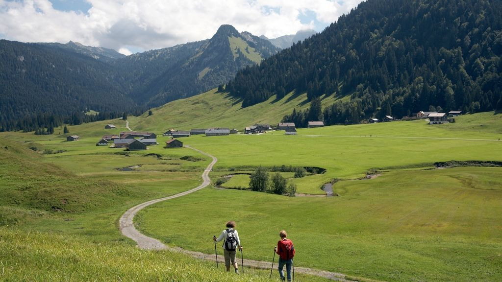 Wandern Schönenbach © Christoph Lingg_Bregenzerwald Tourismus
