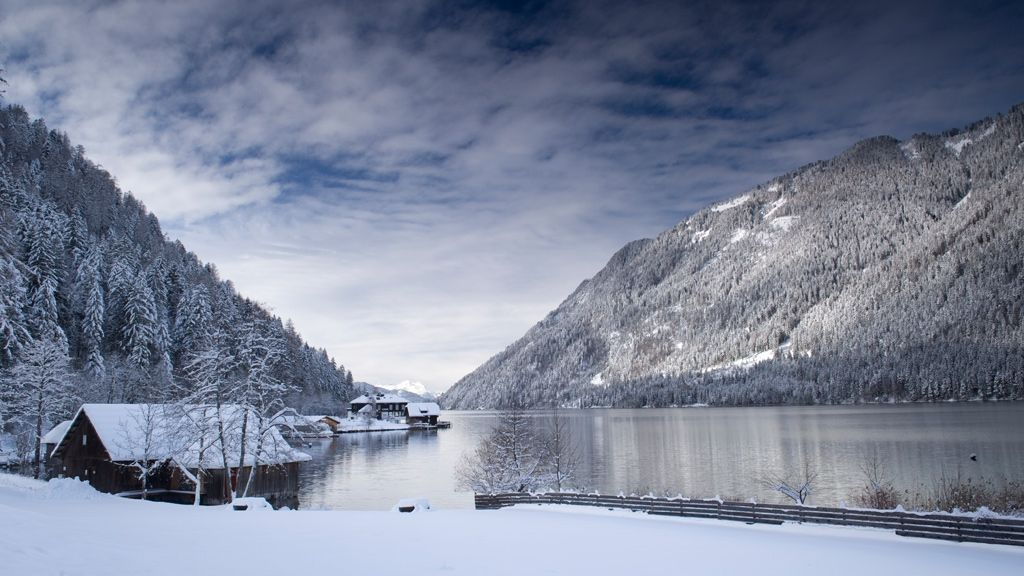 Winterlandschaftsbild Weissensee - © Gerdl - Kärnten Werbung