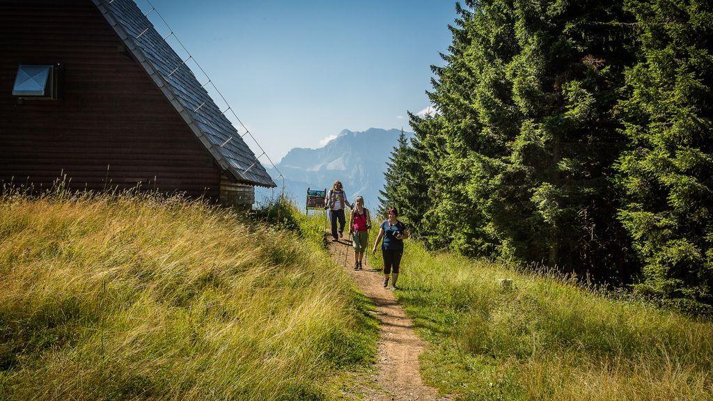 Österreich Kärnten Arnoldstein Wandern am Dreiländereck Sommer_LIK Fotoakademie_Reinhard Nadrchal