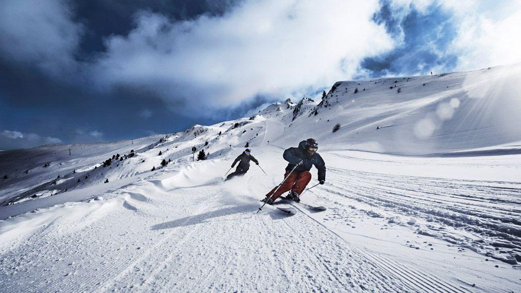 Skifahren am Hochzeiger - Foto: TVB Pitztal