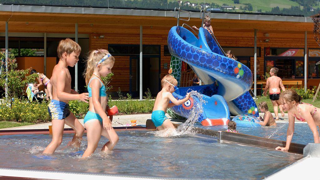 Badespaß für die Kleinen - Foto: TVB Fügen / Haun Manfred