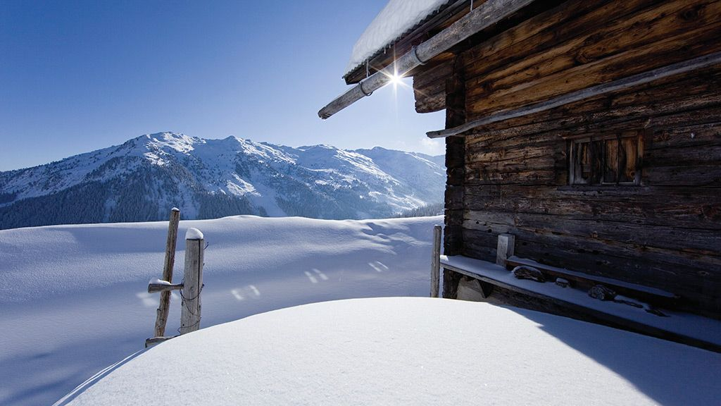 Aschau im Zillertal Maschentalalm - Foto: TVB Fügen / Ritschel