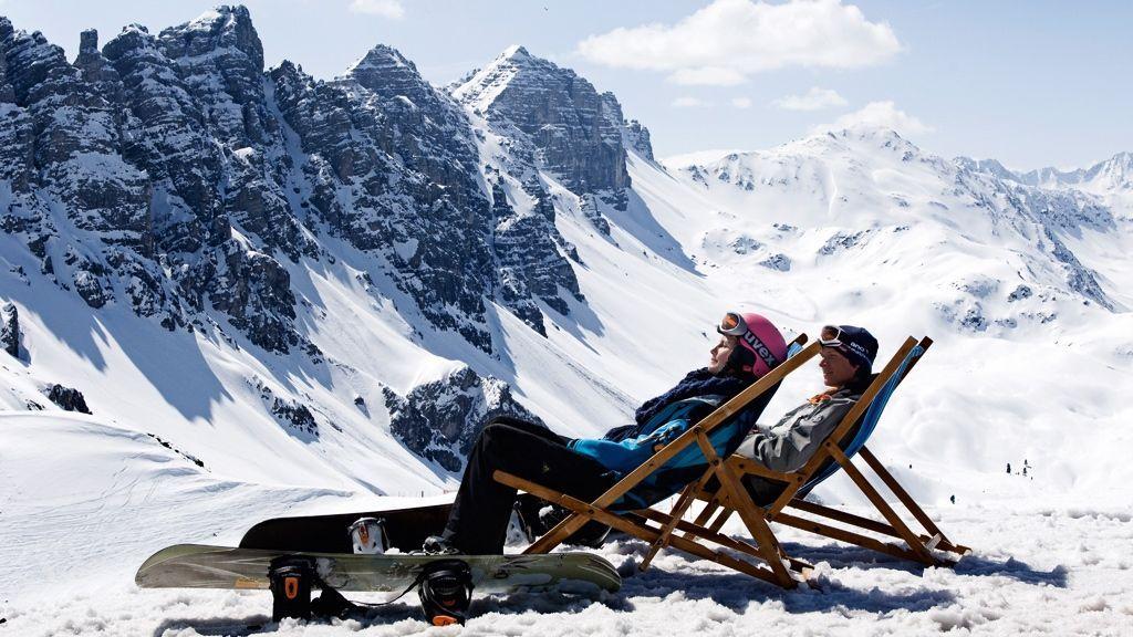 Sonne genießen - Axamer Lizum - Foto: Innsbruck Tourismus