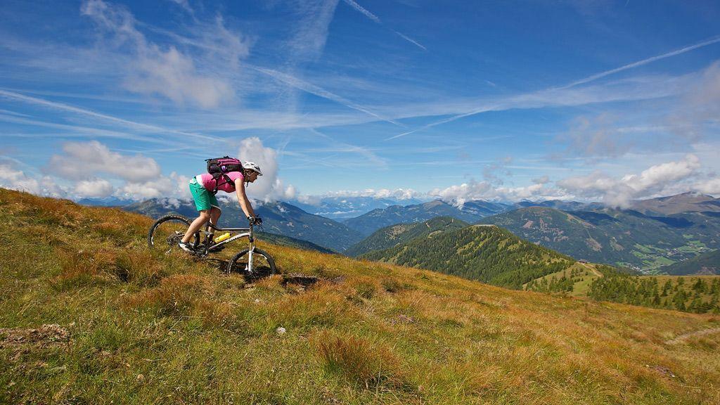 Mountainbiken in Bad Kleinkirchheim - © Bad Kleinkirchheimer Tourismus Marketing GmbH