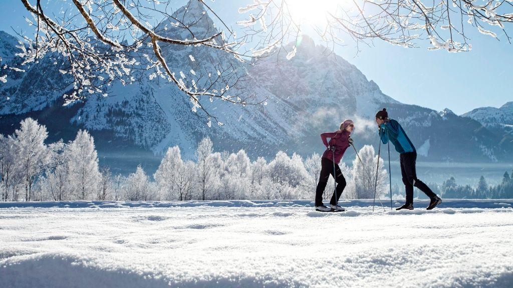 Langlaufen in der Tiroler Zugspitz Arena - Foto: Tiroler Zugspitz Arena | U. Wiesmeier