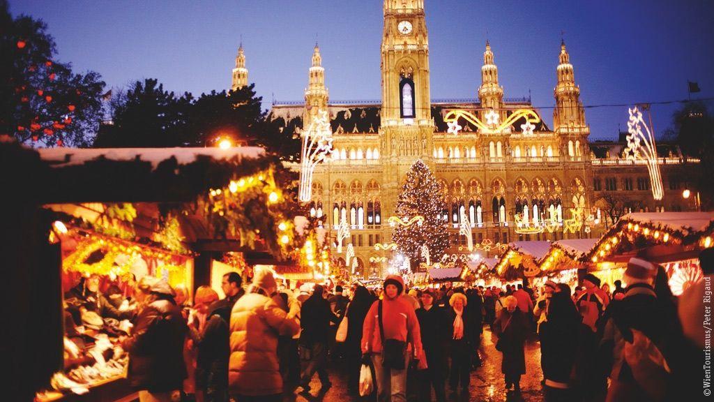 Wiener Adventzauber und Christkindlmarkt ©WienTourismus/Peter Rigaud
