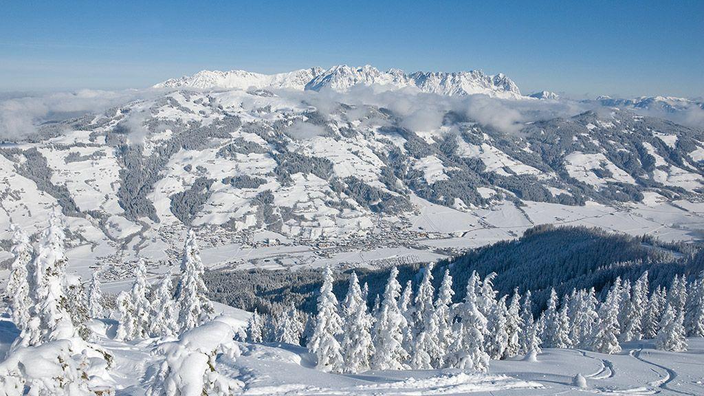 View of Brixen im Thale - © by Kurt Tropper - Brixen  im  Thale Tirol