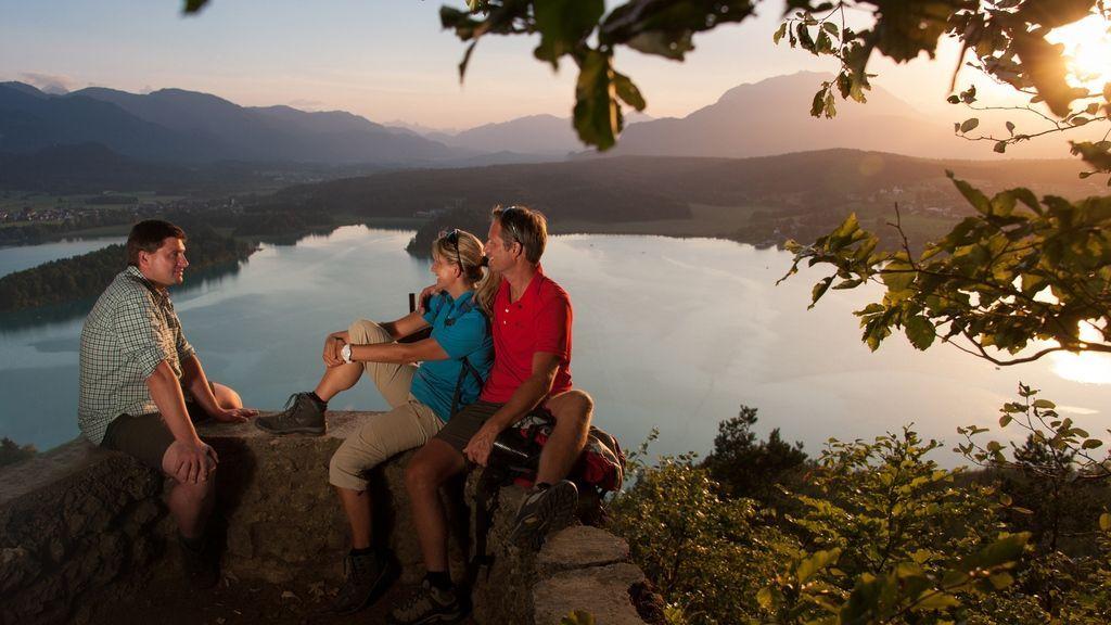Blick auf den Faaker See Österreich Werbung, Fotograf: Bernhard