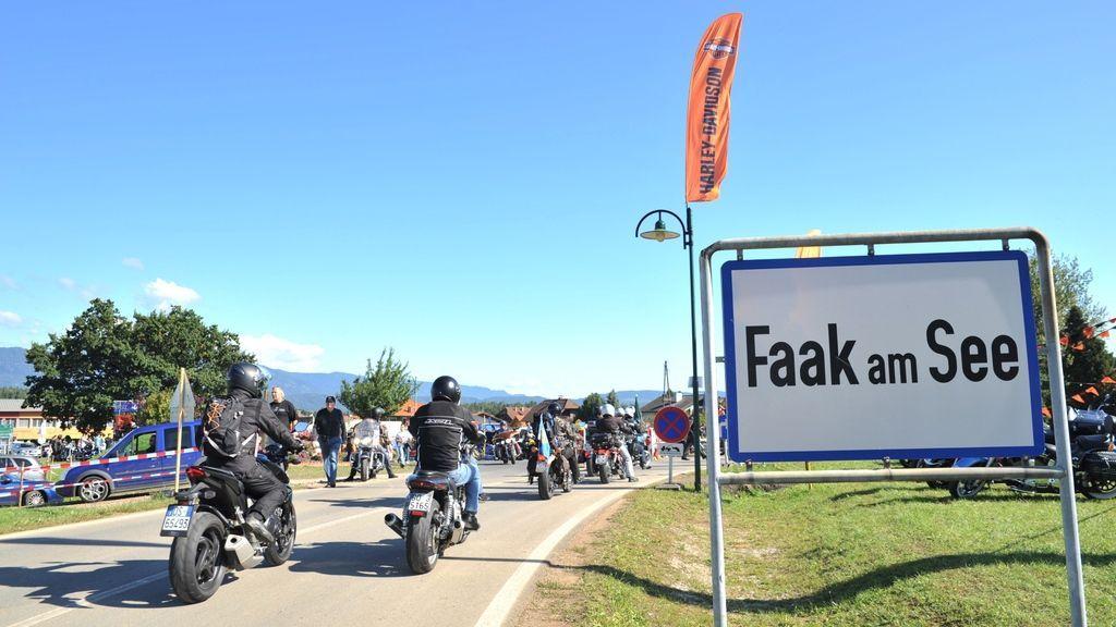 European Bike Week Kärnten Werbung, Fotograf: Horst