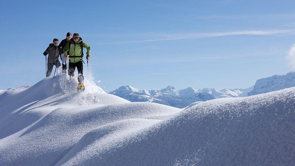 Schneeschuhwandern - © Adolf Bereuter/Bregenzerwald Tourismus - Bregenzerwald Vorarlberg