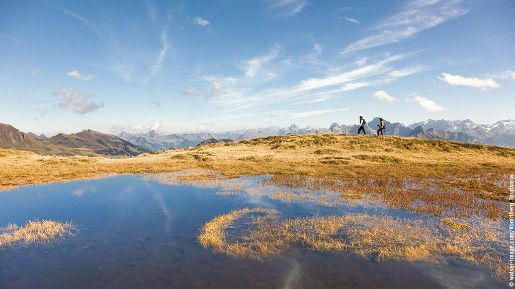 Portlahorn oberhalb von Damüls - Bregenzerwald Vorarlberg