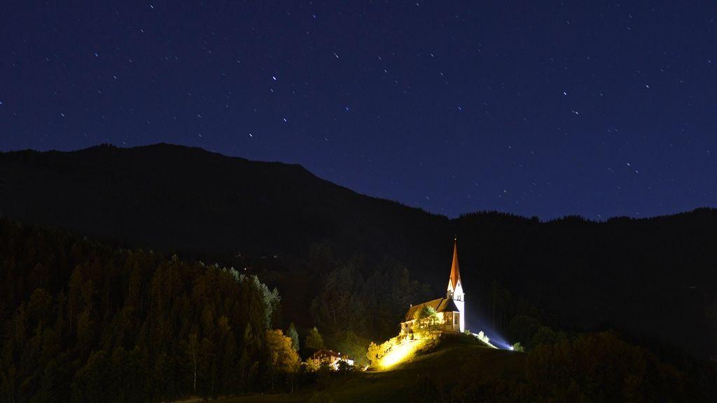 Pankrazberg bei Nacht © TVB-Fügen/Wörgötter&friends