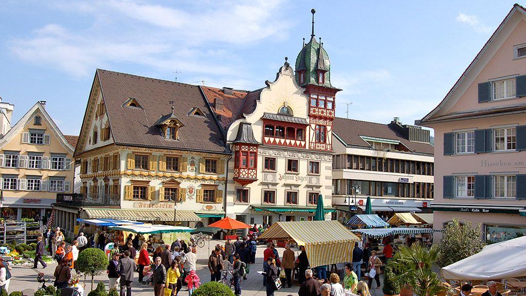 Dornbirn Marktplatz - © Dornbirn Tourismus - Bodensee-Vorarlberg Vorarlberg