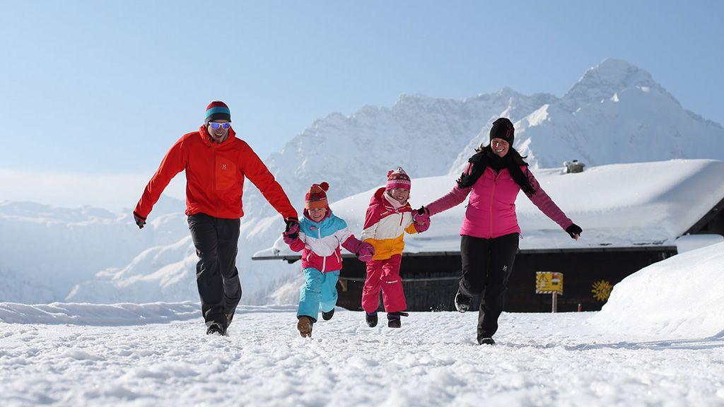 Winter - Kleinwalsertal Vorarlberg