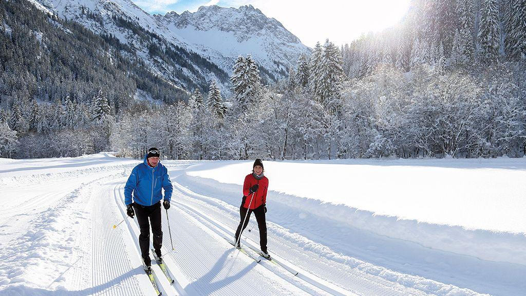 Langlaufen - Kleinwalsertal Vorarlberg