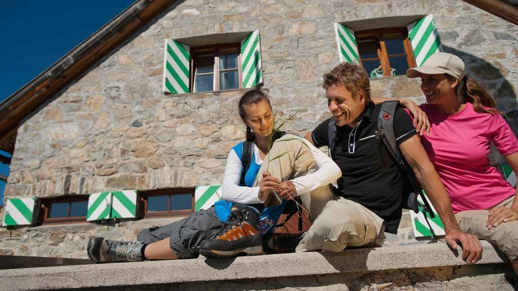 Wanderpause © Tourismusverband Paznaun – Ischgl