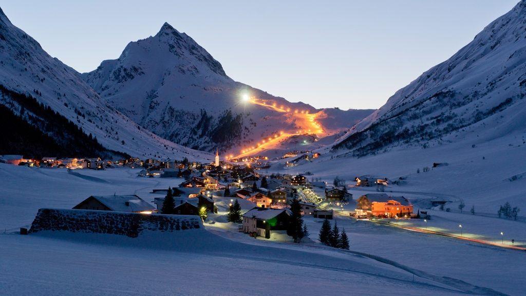 Abendstimmung in Galtür © Tourismusverband Paznaun – Ischgl - Galtuer Tirol