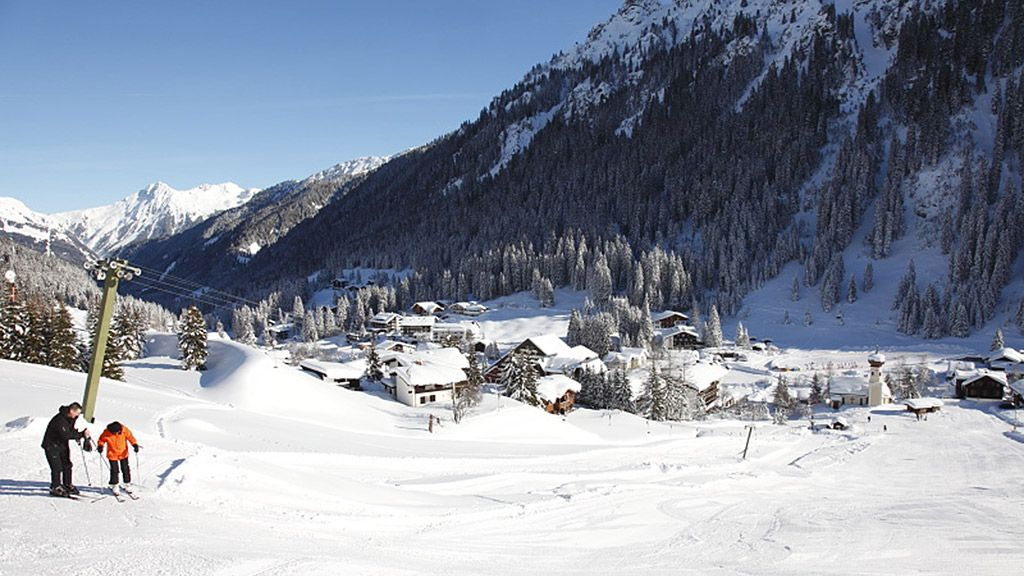Blick auf Gargellen - Foto: Bergbahnen Gargellen/Bertram Klehenz - Montafon Vorarlberg