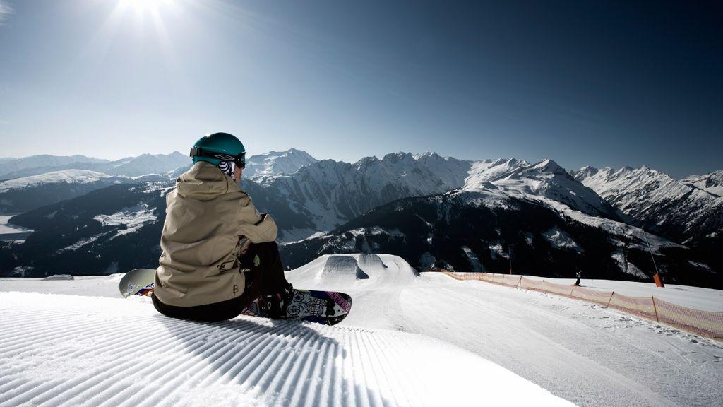 Snowboarden in Gerlos - Foto: Zillertal Arena