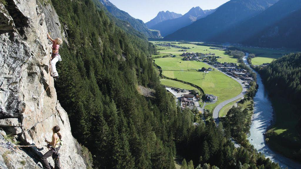 Klettern - Foto: Ötztal Tourismus - Michael Meisl