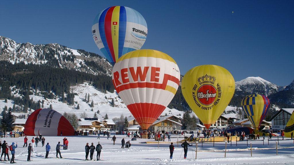 Ballonfestival - Foto: Tourismusverband Tannheimer Tal