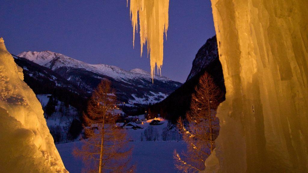 Eisklettern in Heiligenblut - © Gerdl - Kärnten Werbung