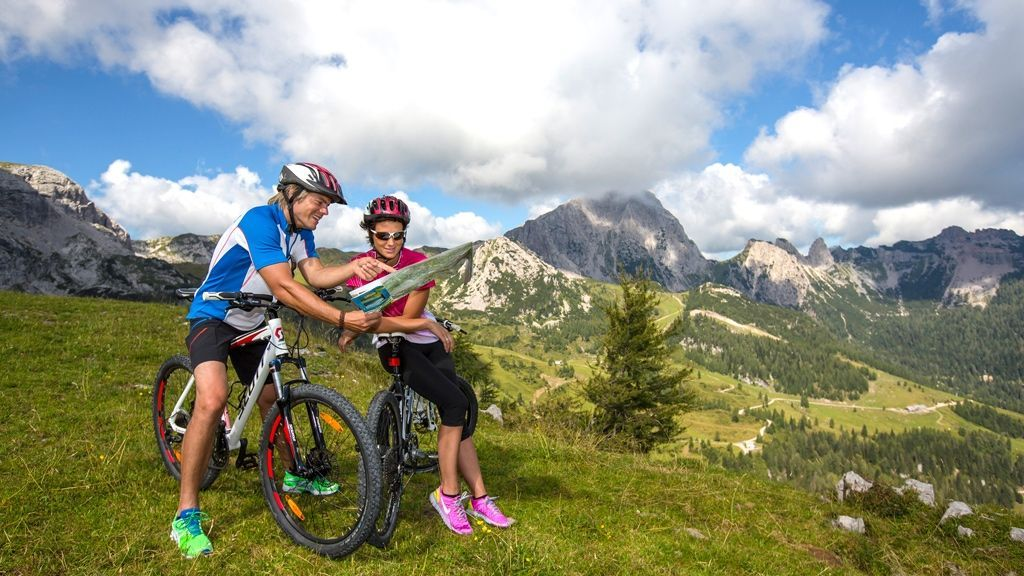 Mountainbike Tour am Nassfeld © KIG Karnische Incoming GmbH