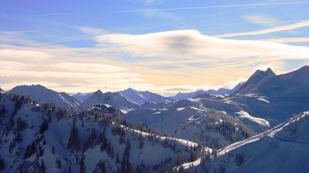 Atemberaubendes Panorama im Brixentaler Skigebiet © by Stephan Bannach | Tourismusverband Kitzbueheler Alpen-Brixental