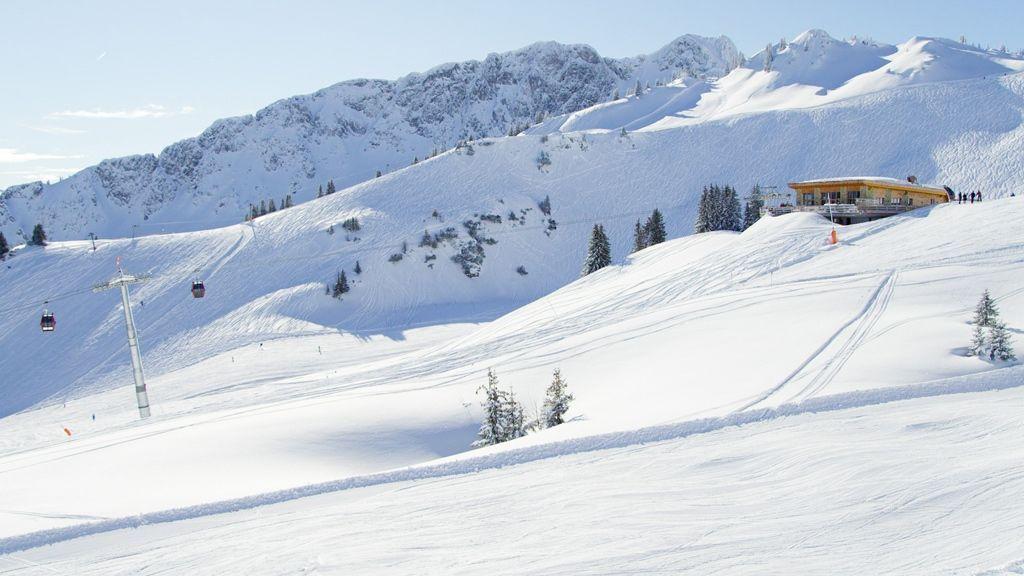 Skifahren am Hahnenkamm - Foto: TVB Naturparkregion Reutte