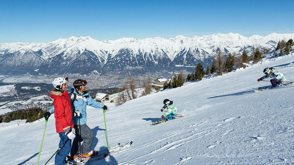 Skifahren am Patscherkofel - © Innsbruck Tourismus - Innsbruck Tirol