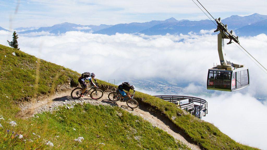 Mountainbiker Nordkette - Foto: Innsbruck Tourismus