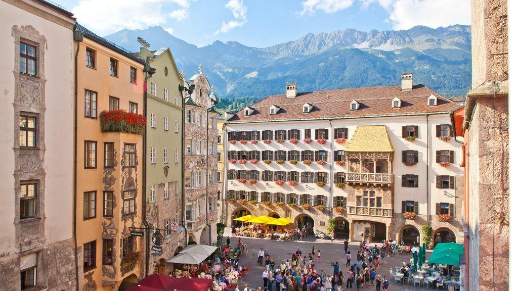 goldenes Dachl und die Altstadt von Innsbruck - Foto: Innsbruck Tourismus