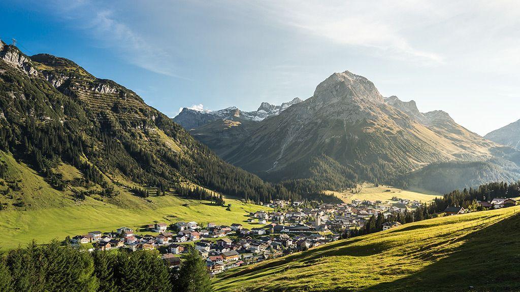Blick auf Lech - © LechZuersTourismus/HannoMackowitz