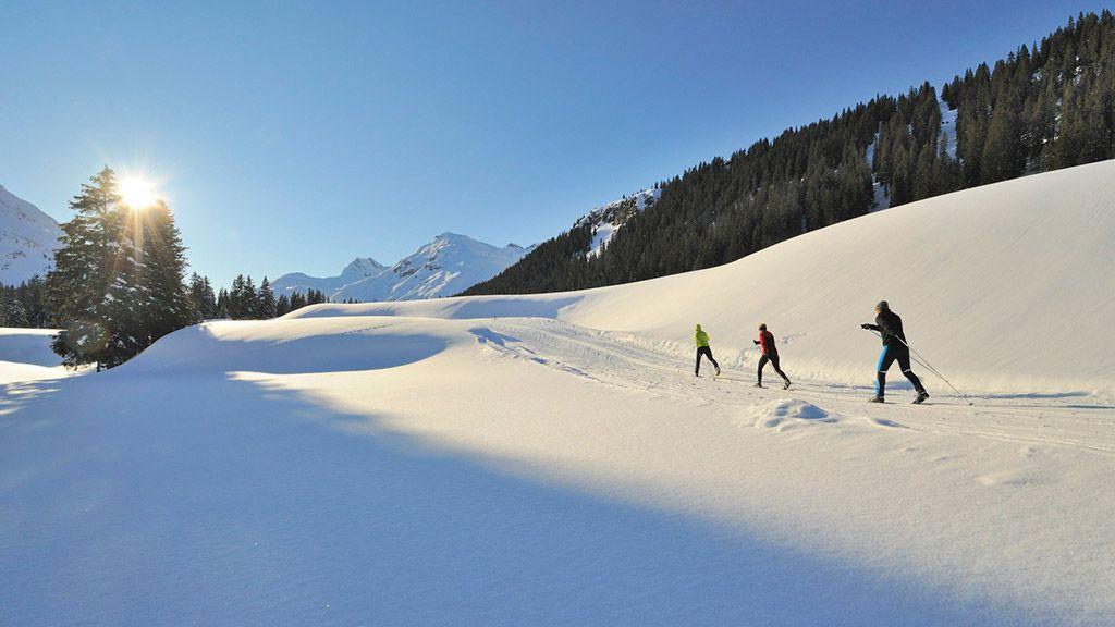 Langlaufen - © Lech Zürs Tourismus/Sepp Mallaun - Lech am Arlberg Vorarlberg