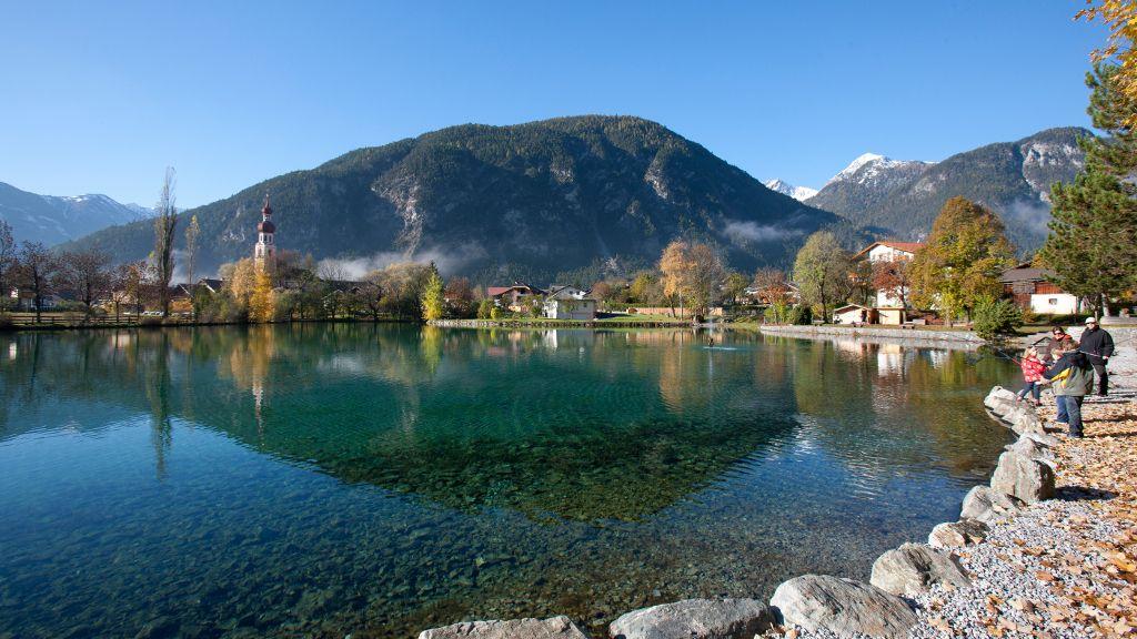 Das romantische Ambiente eignet sich perfekt für Spaziergänge und Wanderungen auf Nassereither Boden! - Imst Region Tirol