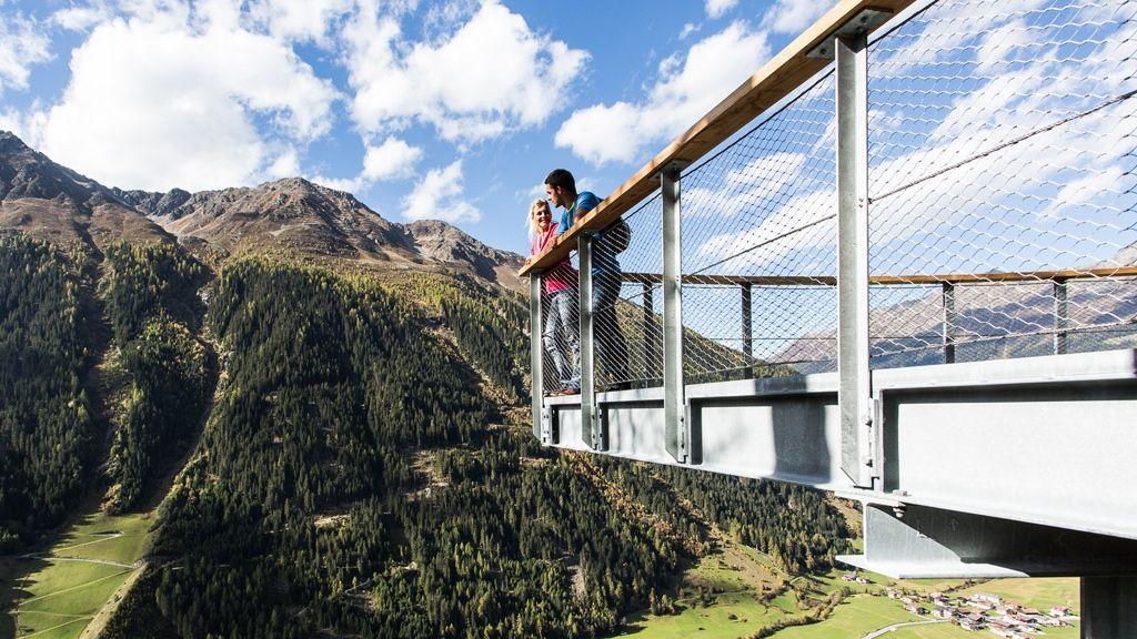 Kaunertal Plattform © TVB Tiroler Oberland - Kaunertal Tourismus / Daniel Zangerl