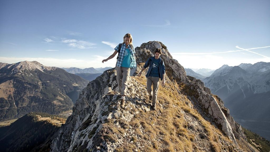 Wandern in Lermoos - Foto: Tiroler Zugspitz Arena | U. Wiesmeier