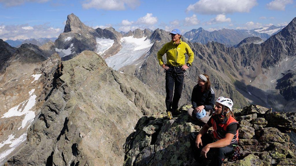 Klettern Kaunertal © Kaunertal Tourismus