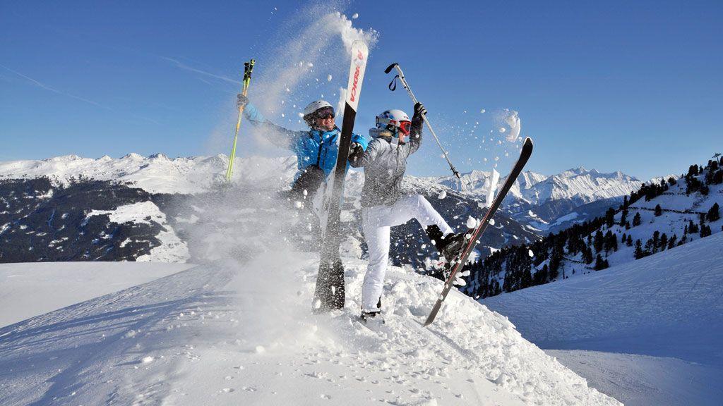 Skiurlaub im Zillertal - Foto: TVB Fügen / Wörgötter & Friends