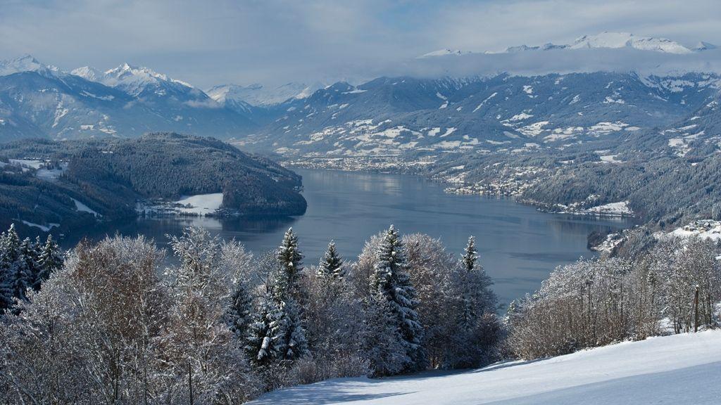 Winterlandschaft Millstättersee © Gerdl - Kärnten Werbung