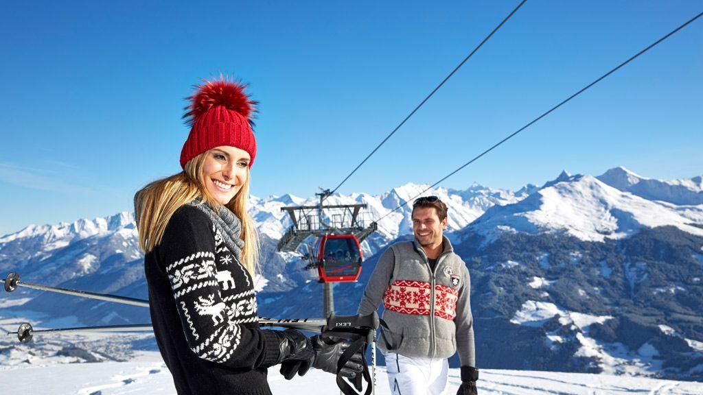 Der perfekte Start f++r Skiausfl++ge und Skitouren ist die Panoramabahn Kitzbüheler Alpen in Hollersbach - Bildnachweis: Mittersill Plus GmbH, Michael Huber