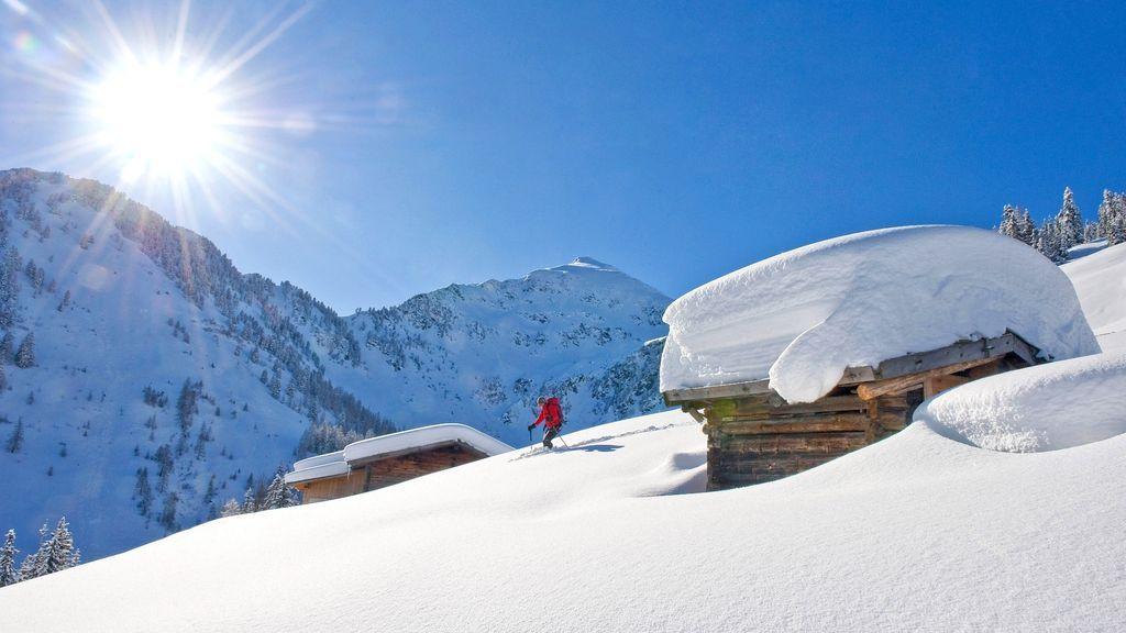 Tiefschneeabfahrt Inneralpbach - Copyright:Alpbachtal Seenland Tourismus